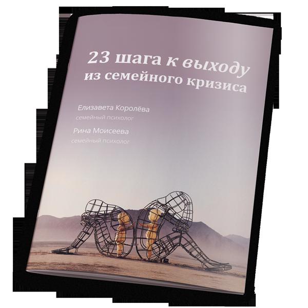 Книга 23 шага к выходу из семейного кризиса